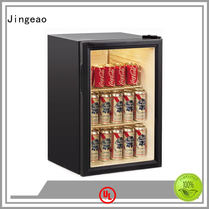 Jingeao fridge commercial display fridges improvement for school