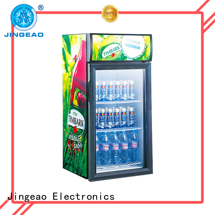 Jingeao power saving commercial display coolers for-sale for company