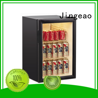 Jingeao dazzing commercial display refrigerator package for company
