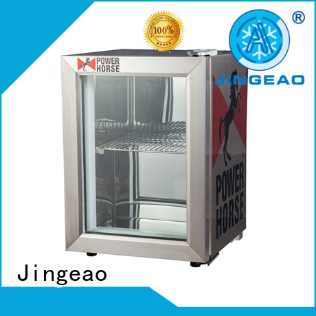 Jingeao power saving commercial drinks refrigerator management for bakery