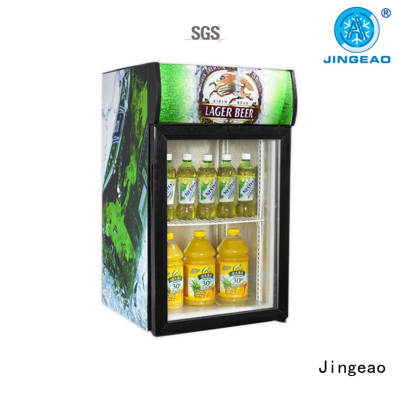 Jingeao superb display freezer improvement for wine