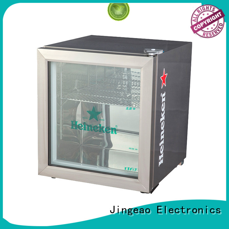 Jingeao dazzing display refrigerator management for restaurant