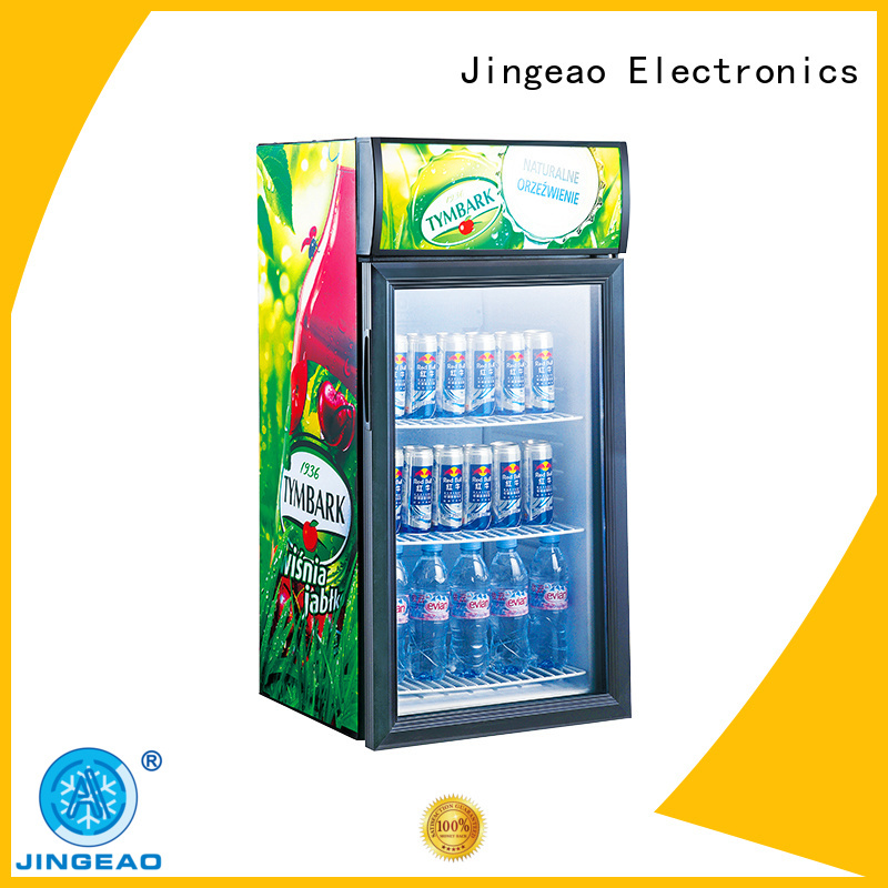 Jingeao dazzing Display Cooler environmentally friendly for bar