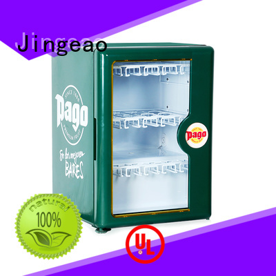 Jingeao cooler small display cooler management