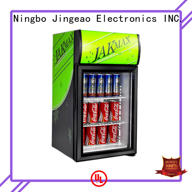 Jingeao superb small commercial refrigerator certifications for store
