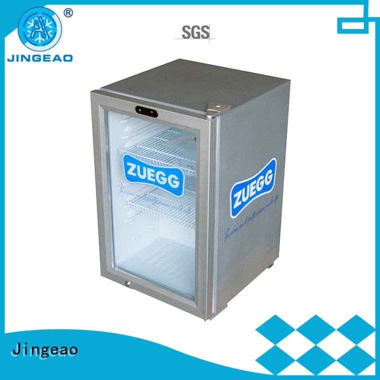 Jingeao superb mini display fridge type for bakery