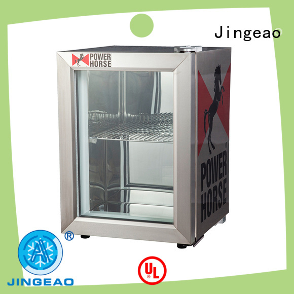 Jingeao display commercial cooler management for hotel