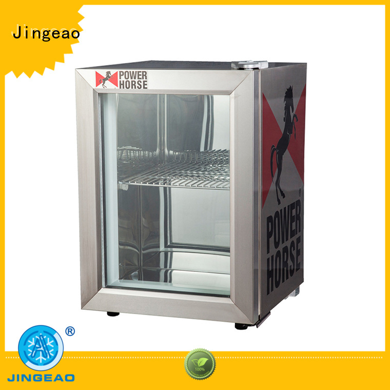 dazzing commercial display coolers display type for bar