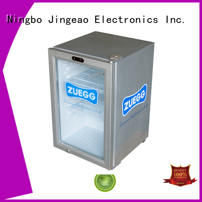 Jingeao cooler mini display fridge research for hotel