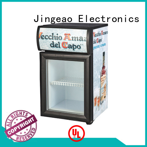 Jingeao beverage glass door refrigerator for company