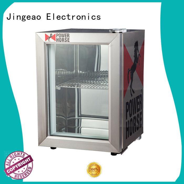 Jingeao fridge small display fridges marketing for restaurant