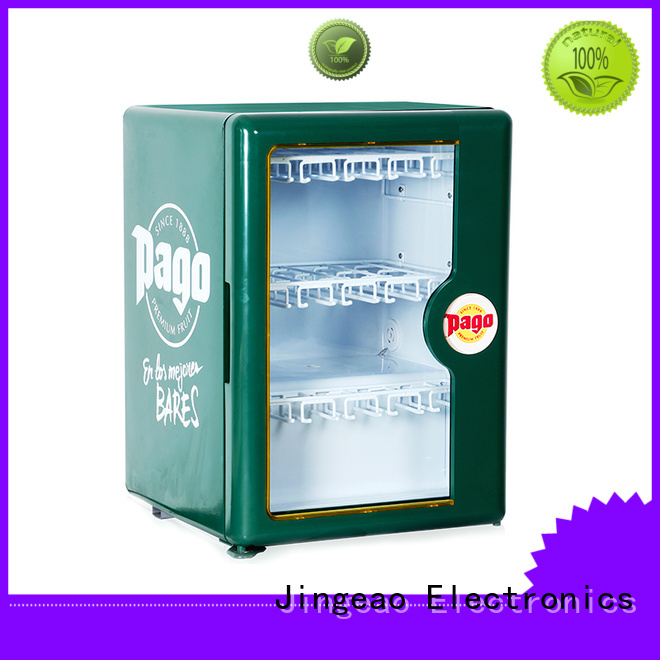Jingeao good-looking commercial display refrigerator display for hotel