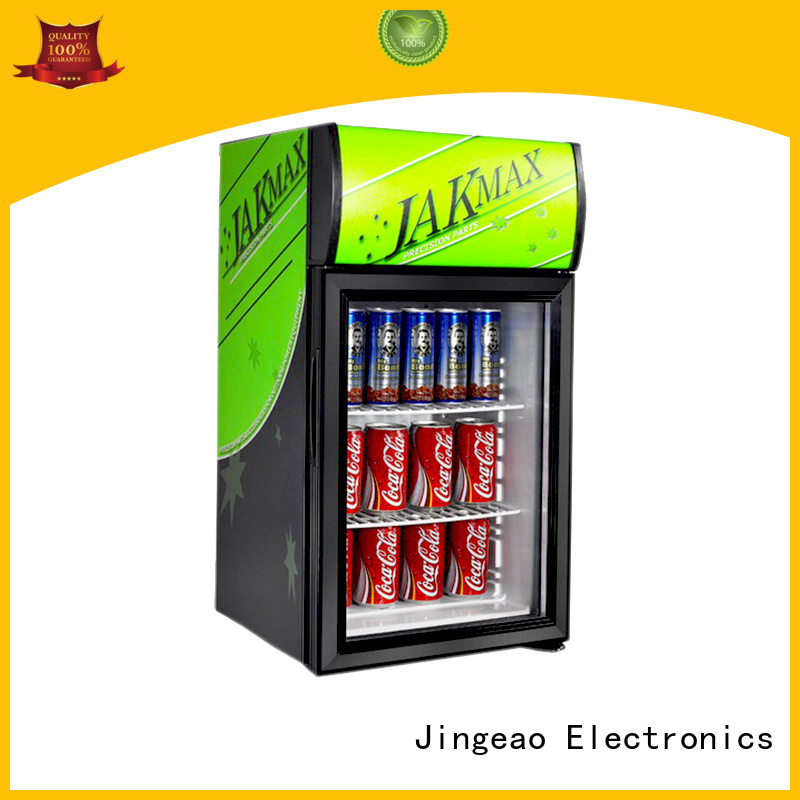 Jingeao superb upright display fridge cooler