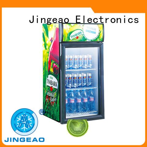 Jingeao good-looking beverage display refrigerator display for wine