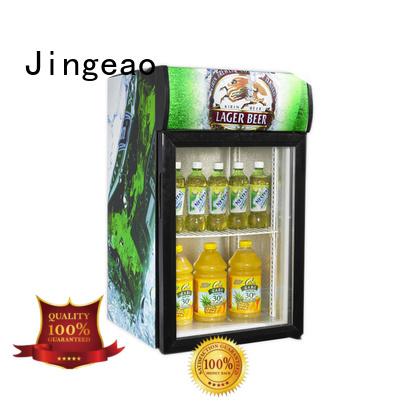 Jingeao beverage commercial fridge application for supermarket