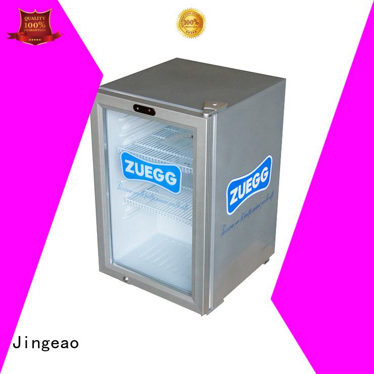 popular commercial drinks display fridge management for bakery Jingeao