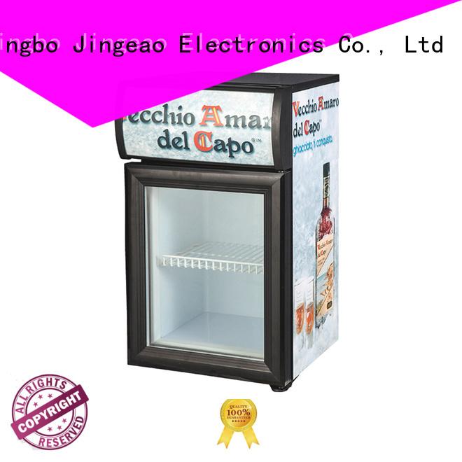 Jingeao fridge commercial beverage cooler workshops for school