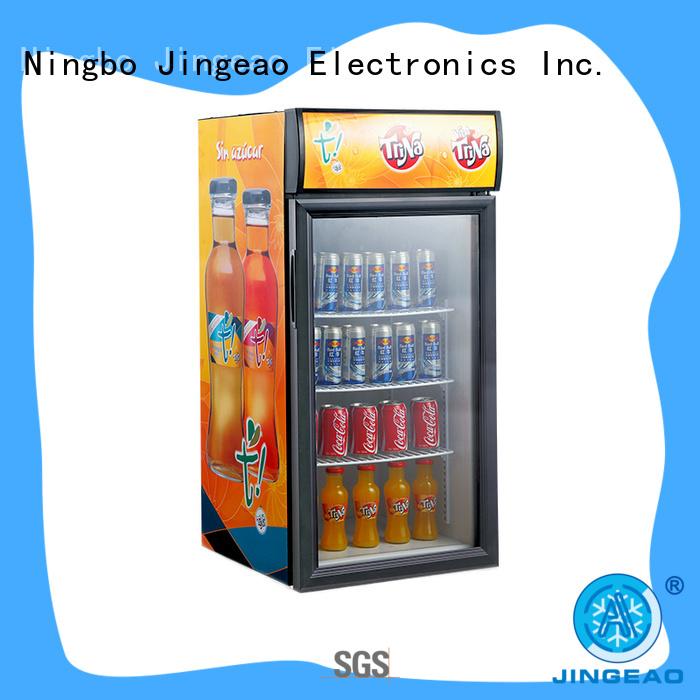 Jingeao beverage commercial display fridges package for hotel