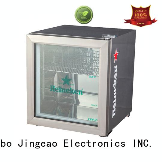 Jingeao cooler glass front fridge sensing for school