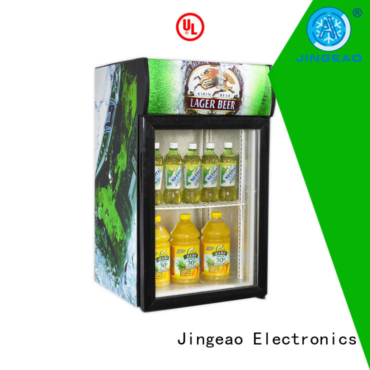 cooler bar display fridge constantly for school Jingeao