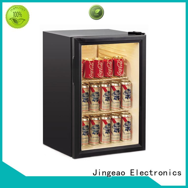 Jingeao dazzing display fridge package for school