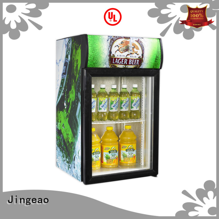 good-looking glass door refrigerator display workshops for bar
