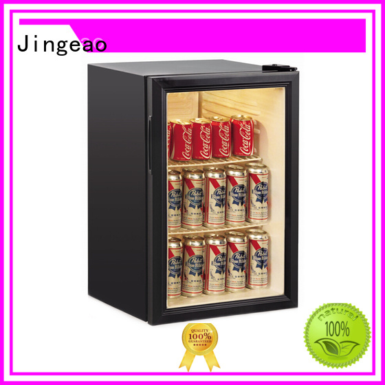 Jingeao beverage commercial display fridge for sale package for company
