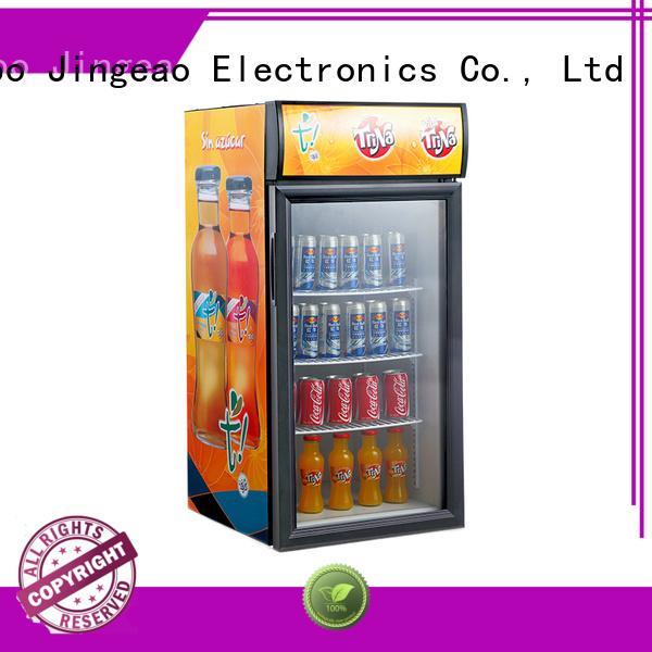 cooler upright display fridge display for supermarket Jingeao