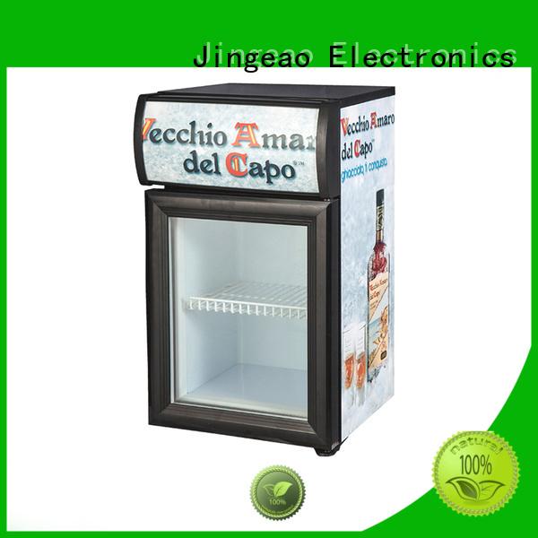 Jingeao fridge display chiller environmentally friendly for supermarket