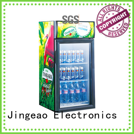 Jingeao display display chiller certifications for bakery