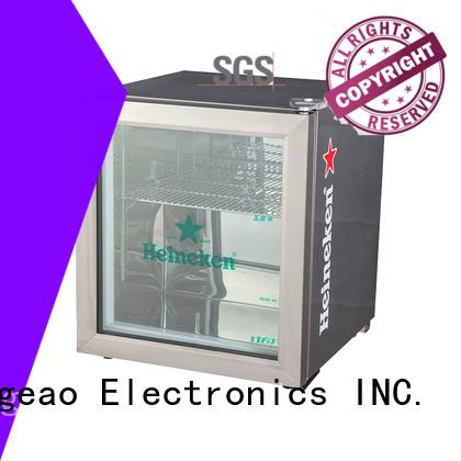 Jingeao good-looking glass door refrigerator for company
