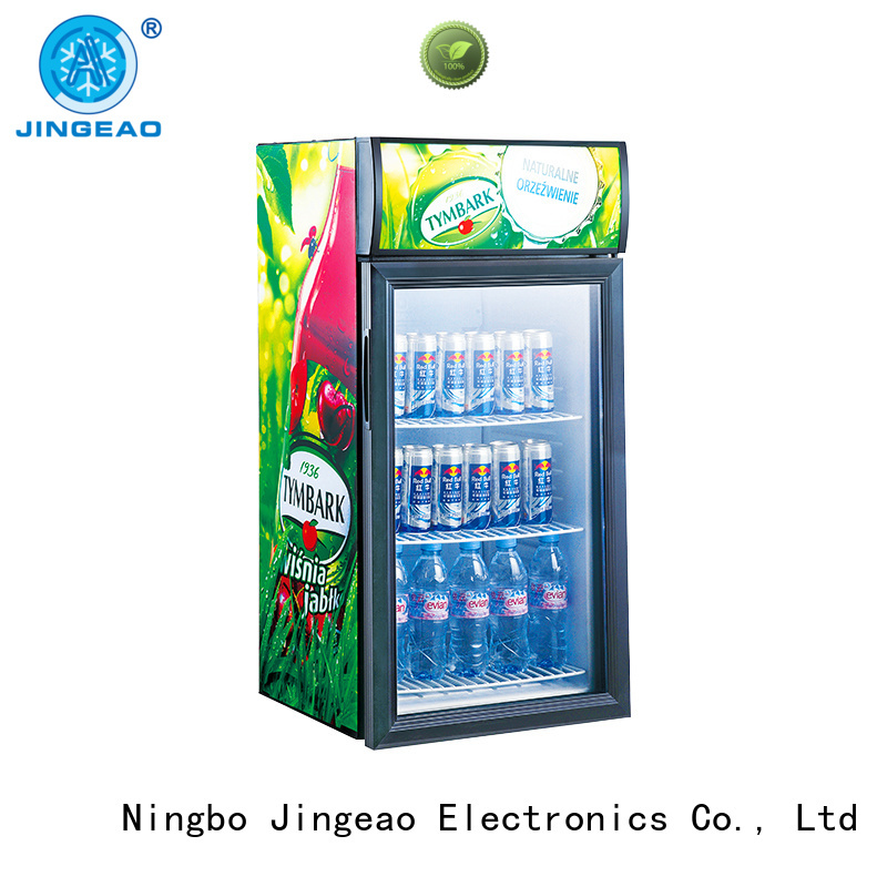 Jingeao cooler display refrigerator environmentally friendly for school