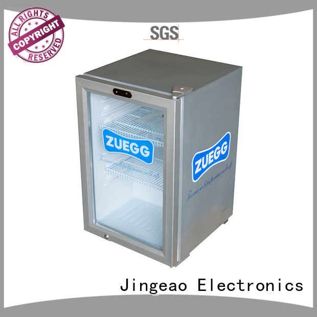 Jingeao superb display freezer application for restaurant