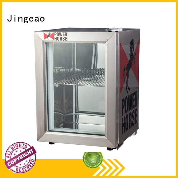 Jingeao dazzing commercial drink fridge for-sale for company
