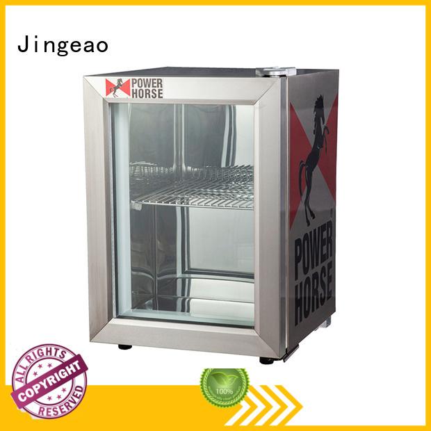 Jingeao fridge commercial beverage cooler package for school