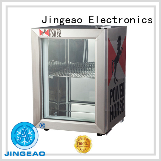 Jingeao good-looking small display cooler for-sale for hotel