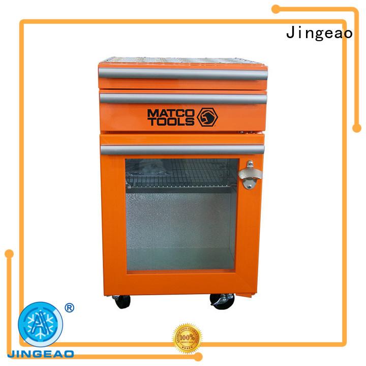 Jingeao drawers tool box refrigerator marketing for supermarket