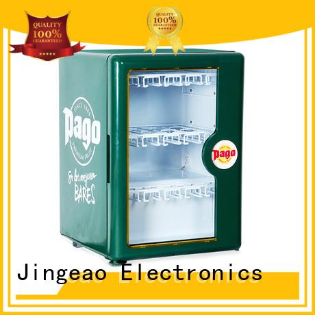 Jingeao good-looking retail display fridge constantly for hotel