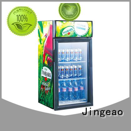 Jingeao dazzing commercial drinks refrigerator constantly