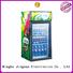 energy saving glass door refrigerator cooler marketing for store