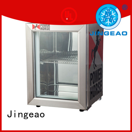 Jingeao good-looking commercial display refrigerator for-sale for company