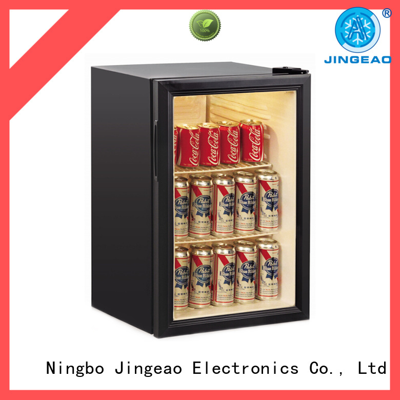 power saving commercial beverage refrigerator display constantly for school