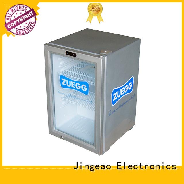 Jingeao display display fridges application for supermarket