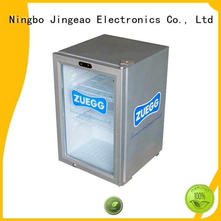 Jingeao dazzing commercial display refrigerator improvement for supermarket