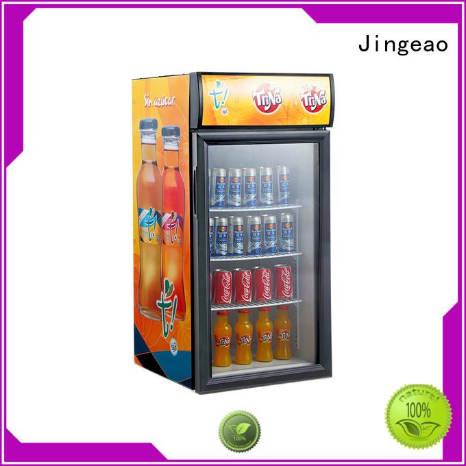 Jingeao fridge beer display cooler constantly for restaurant