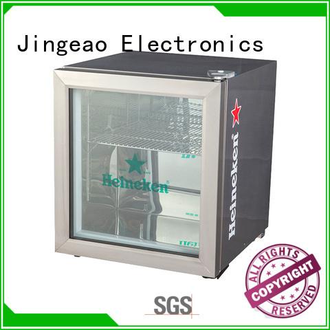 Jingeao fabulous display freezer environmentally friendly for hotel