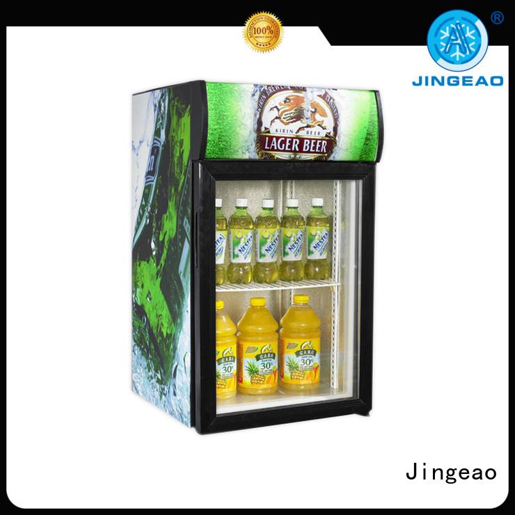 display freezer fridge for bar Jingeao