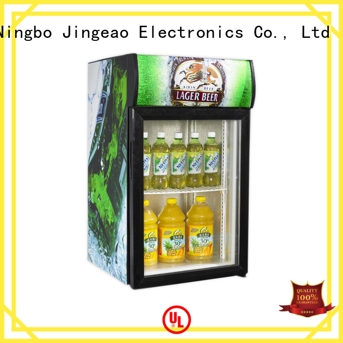 Jingeao cool display chiller type for company