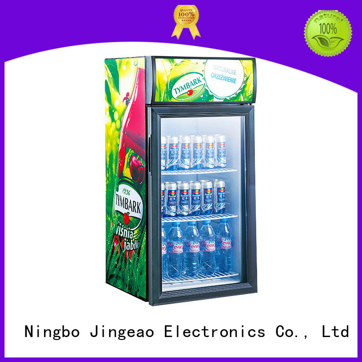 Jingeao fabulous commercial beverage cooler constantly for company