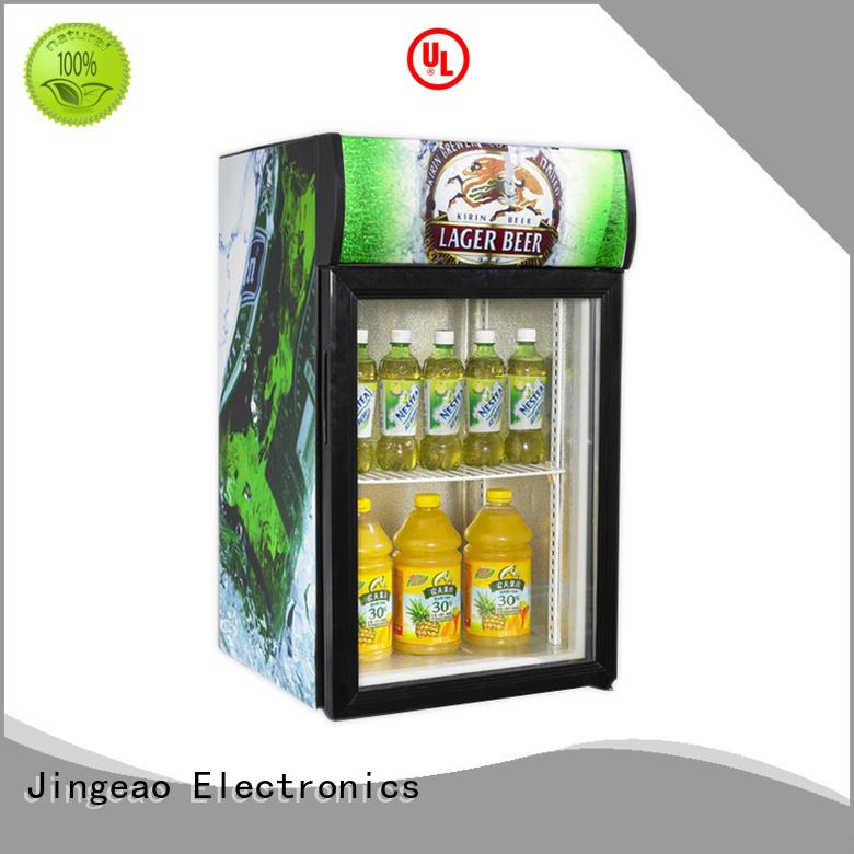 Jingeao energy saving display fridge for market
